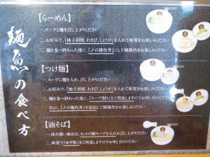 麺魚の説明文