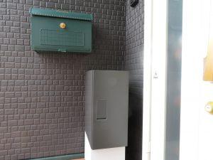 据え置きタイプ宅配BOXの正面